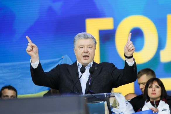 дебати на НСК Олімпійський, Порошенко