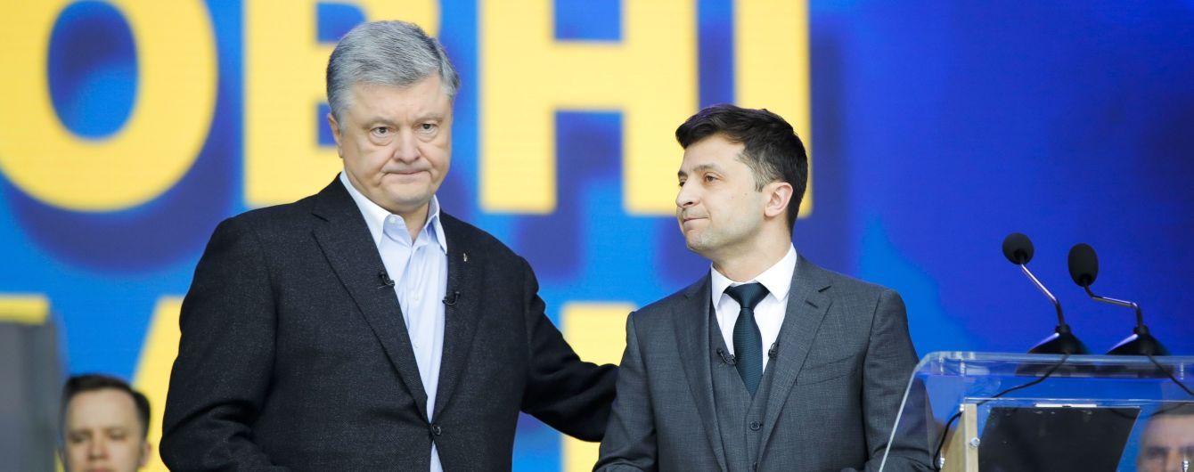 """Порошенко описав """"найжахливішу частину"""" дебатів із Зеленським на """"Олімпійському"""""""