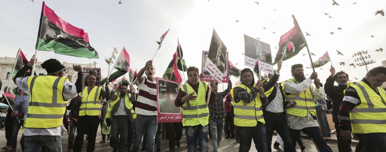 В Ливии начались протесты против генерала Хафтара
