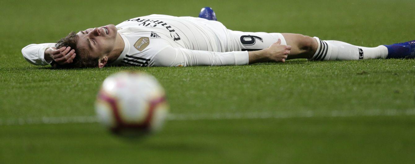 """Футболіст """"Реала"""" зламав ключицю після зіткнення з одноклубником, цього сезону він більше не зіграє"""