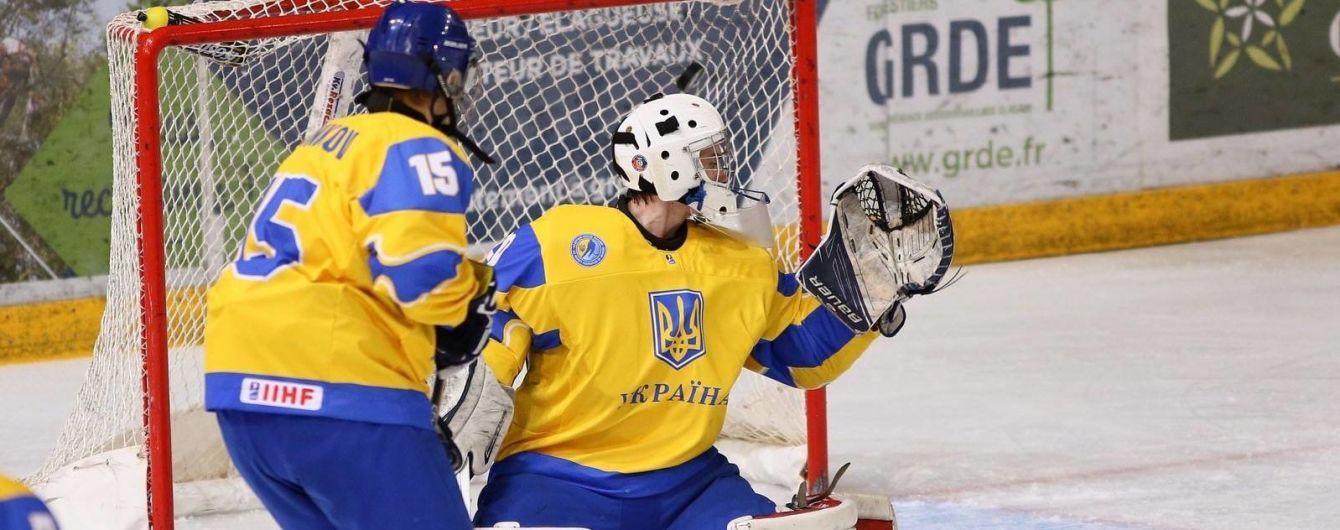 Юніорська збірна України з хокею зазнала п'ятої поразки в п'яти матчах на Чемпіонаті світу