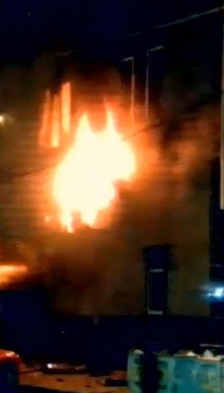 Вночі у Харкові вигорів лазневий комлекс