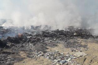 На Львовщине масштабно горит свалка – СМИ