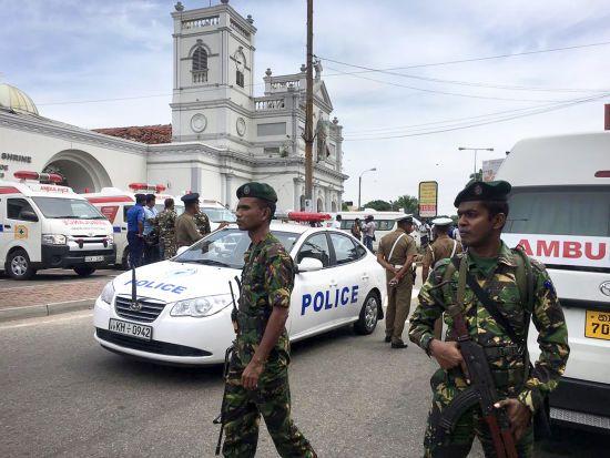У церквах Шрі-Ланки сталися вибухи, постраждали 80 осіб