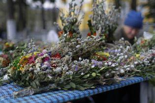 Украинцы восточного обряда празднуют вербное воскресенье