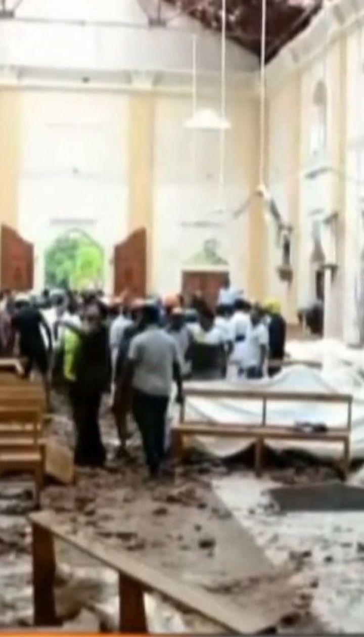 Майже 160 людей загинули внаслідок вибухів на Шрі-Ланці