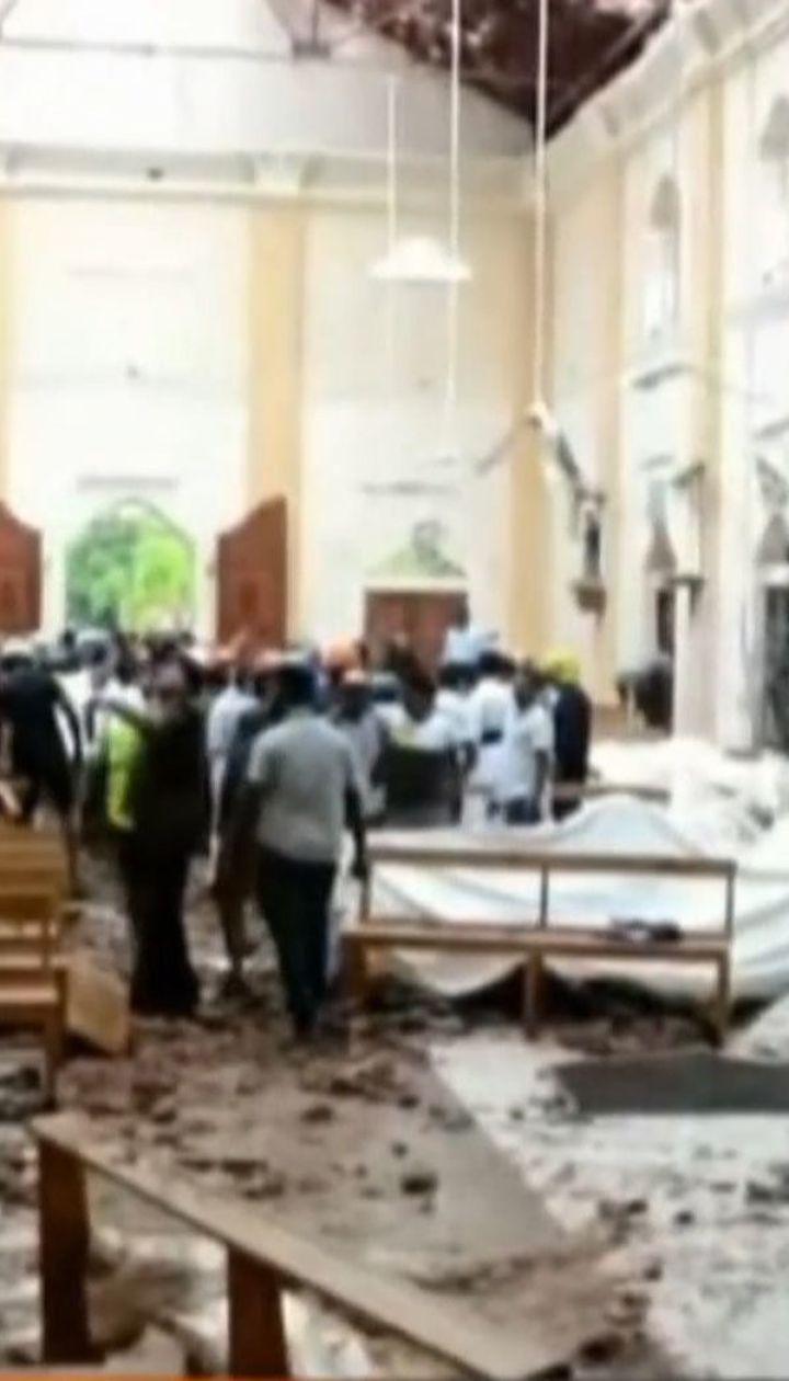 Почти 160 человек погибли вследствие взрывов на Шри-Ланке