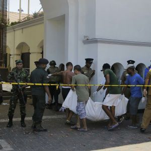 Серия взрывов на Шри-Ланке: в стране введен комендантский час, заблокированыFacebook и WhatsApp