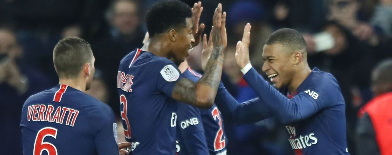 ПСЖ досрочно выиграл чемпионат Франции