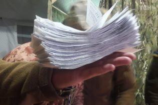За Білецького і побратимів: на дільниці в зоні ООС зіпсували велику кількість бюлетенів