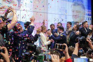 Выборы президента. Как отреагировали на результаты экзит-полов в штабе Зеленского
