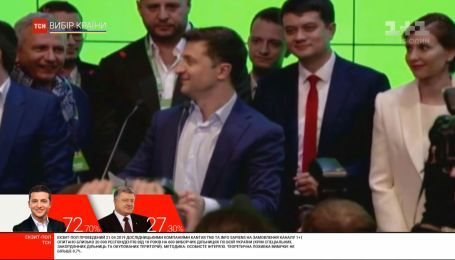 Зеленський виступив у своєму штабі зі словами подяки