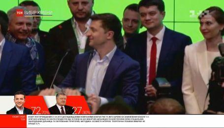 Зеленский выступил в своем штабе со словами благодарности