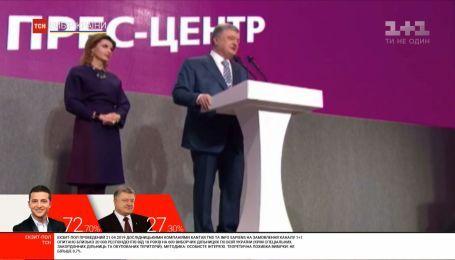 Порошенко пообещал подставить плечо Зеленскому, но работать в оппозиции
