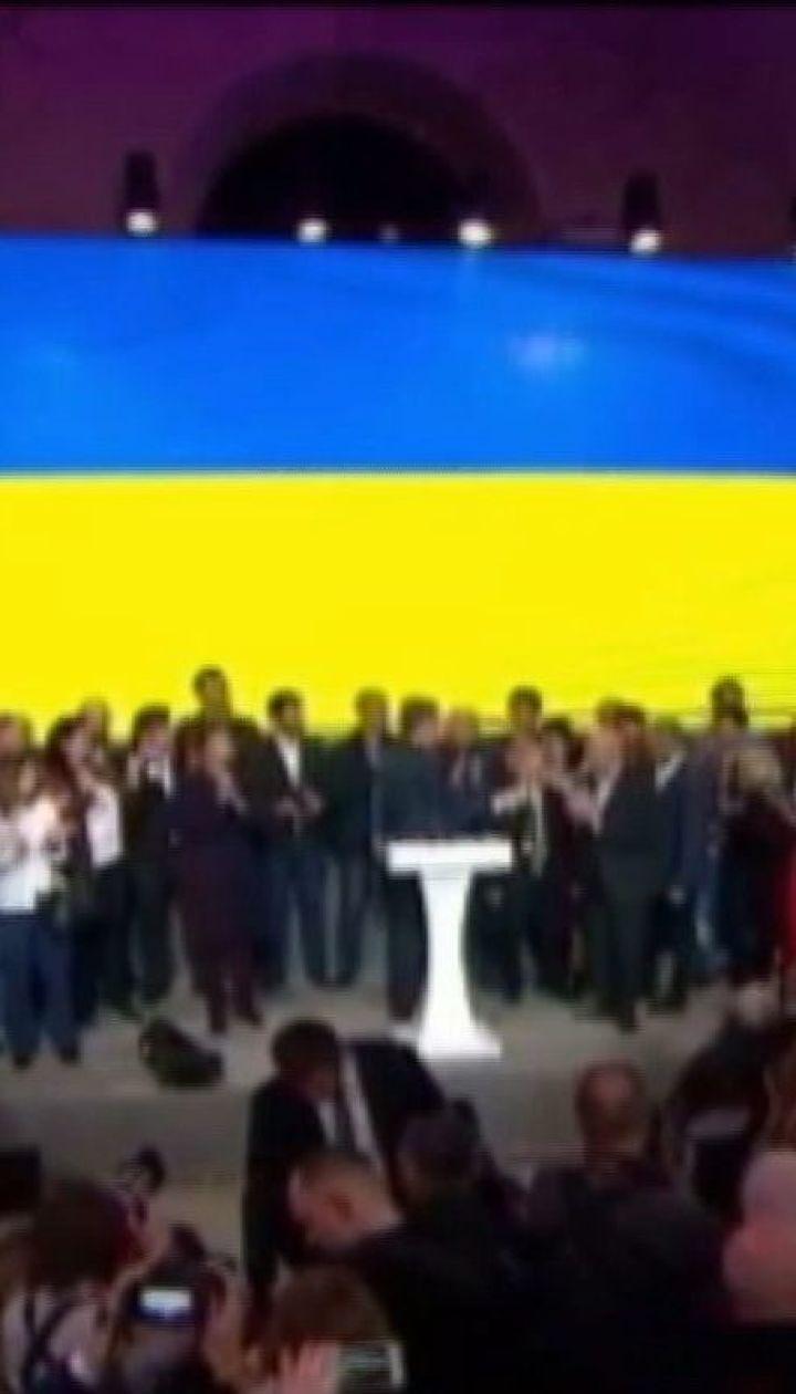 Подготовка пресс-конфереции Зеленского и заявления Порошенко - ситуация в штабах кандидатов