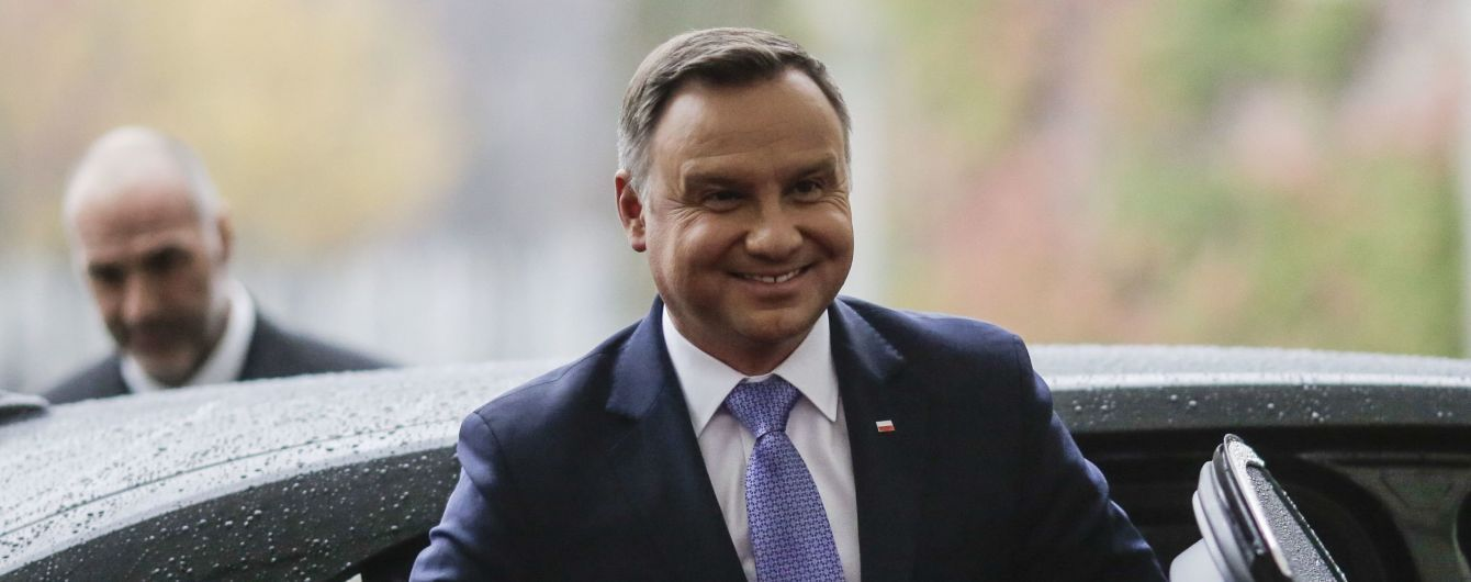 Президент Дуда пригласил Зеленского в Польшу