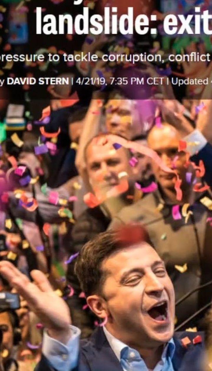 Реакція США на результати екзит-полів другого туру виборів