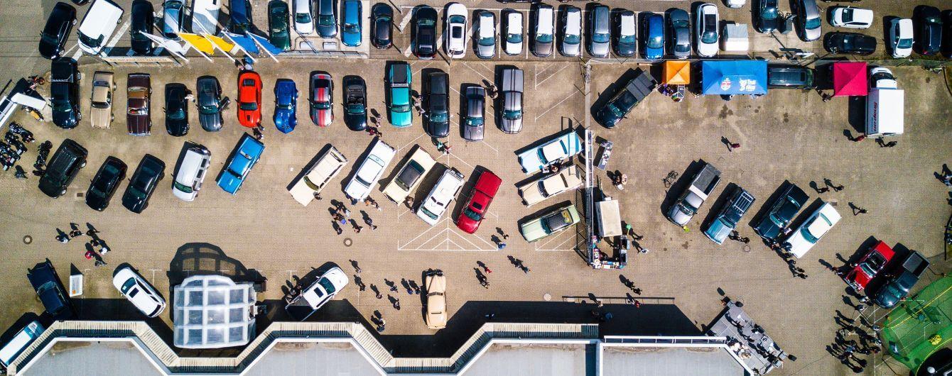 В украинских городах появятся перехватывающие автостоянки