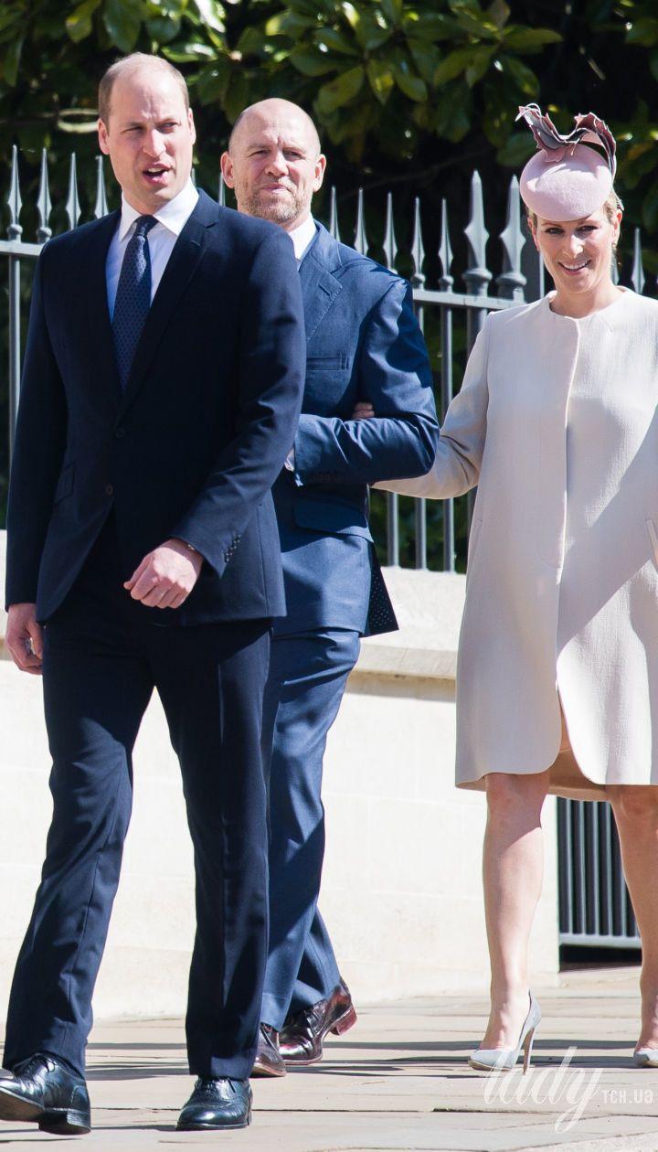 Герцогиня Кембриджская и принц Уильям, Зара Тиндолл и Майк Тиндолл, принцесса Беатрис