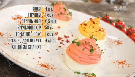 Пасхальная закуска из яиц - рецепты Сеничкина