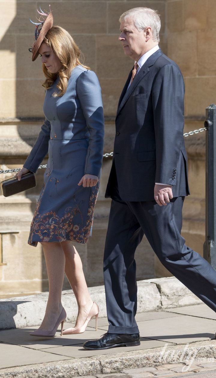 Принцесса Беатрис и принц Эндрю