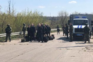 Луганские боевики передали Украине 60 заключенных
