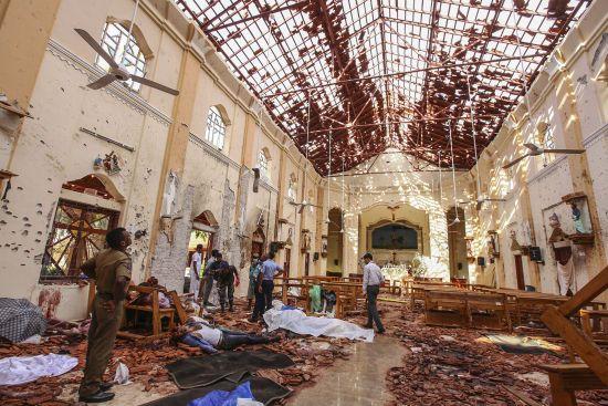 """""""Ісламська Держава"""" показала фото смертників, які влаштували серію вибухів на Шрі-Ланці"""