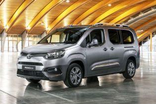 Toyota випустить мінівен ProAce для Європи
