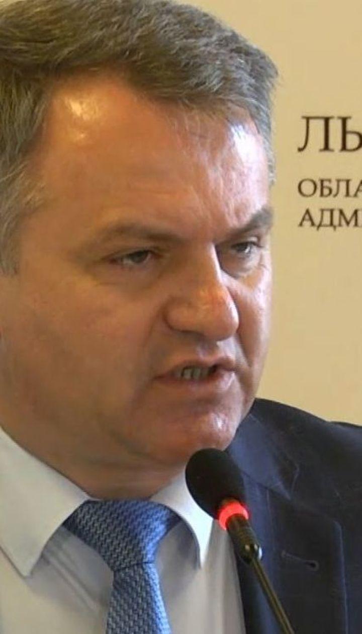 Очільник Львівської ОДА подав у відставку