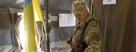 Вибори-2019: серед військових у зоні ООС переміг Зеленський