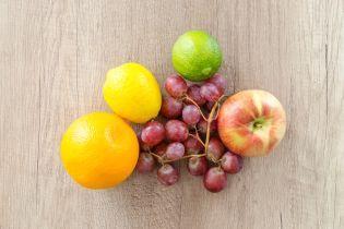 В Украине подешевели виноград, мандарины и лимоны
