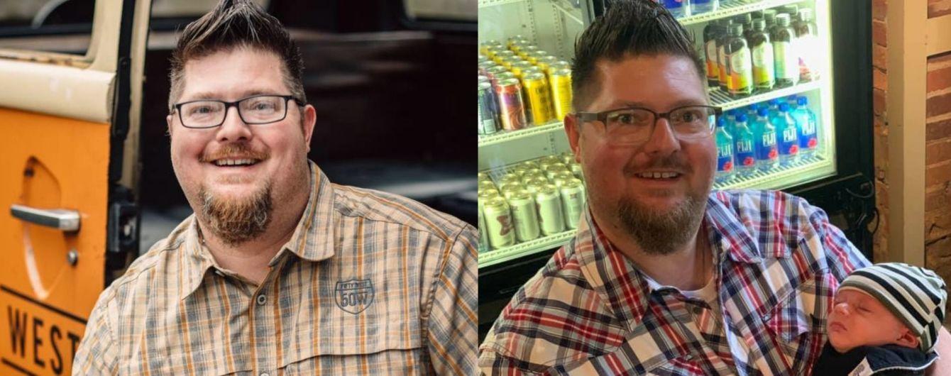 Американец похудел на 20 килограммов, выпивая только пиво и воду