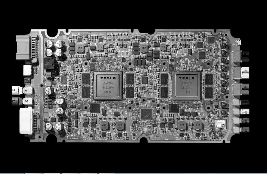 Тесла чип