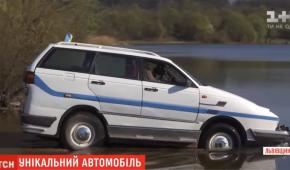 Львовянин превратил старый Volkswagen в автомобиль-амфибию
