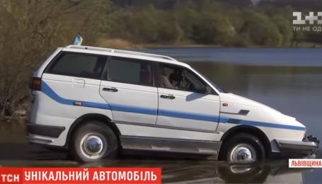 Львів'янин перетворив старий Volkswagen в автомобіль-амфібію