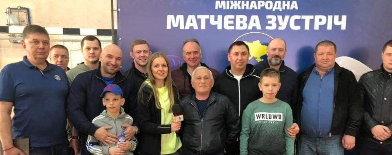 Статус Груп спонсор проведення Міжнародного боксерського матчу серед юнаків
