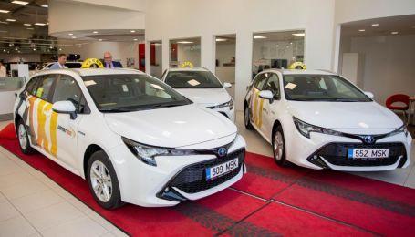 Полторы сотни гибридов Toyota Corolla купил конкурент Uber в Эстонии
