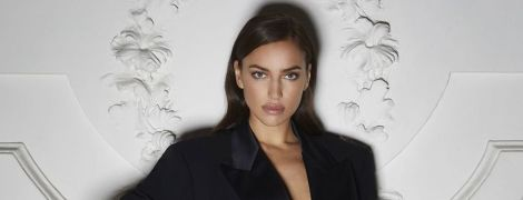В белье и лаковых лодочках: сексуальная Ирина Шейк снялась в новом стильном фотосете