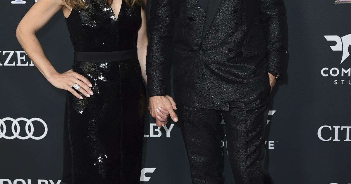 Роберт Дауни-младший с женой @ Associated Press