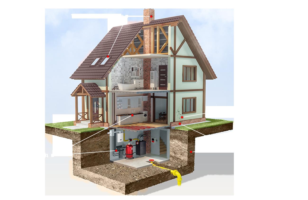 радіація будинок