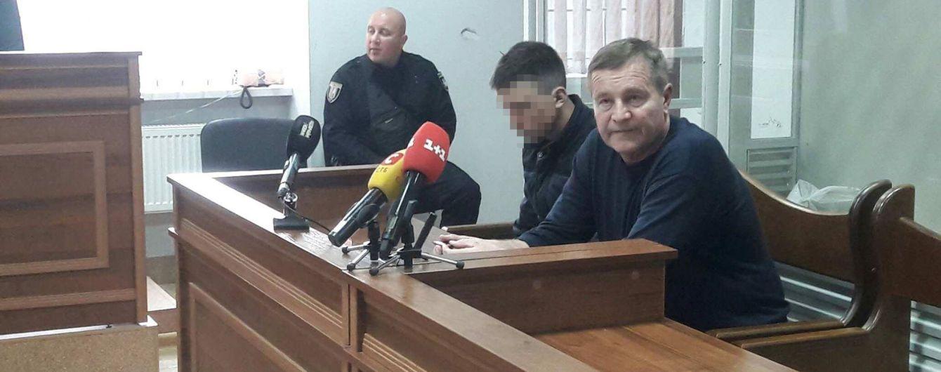 Суд избрал меру пресечения мужчине, который угнал полицейское авто и сбил патрульную в центре Киева