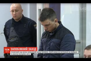 Парень, который на угнанном авто сбил полицейскую в центре Киева, приехал в столицу на заработки