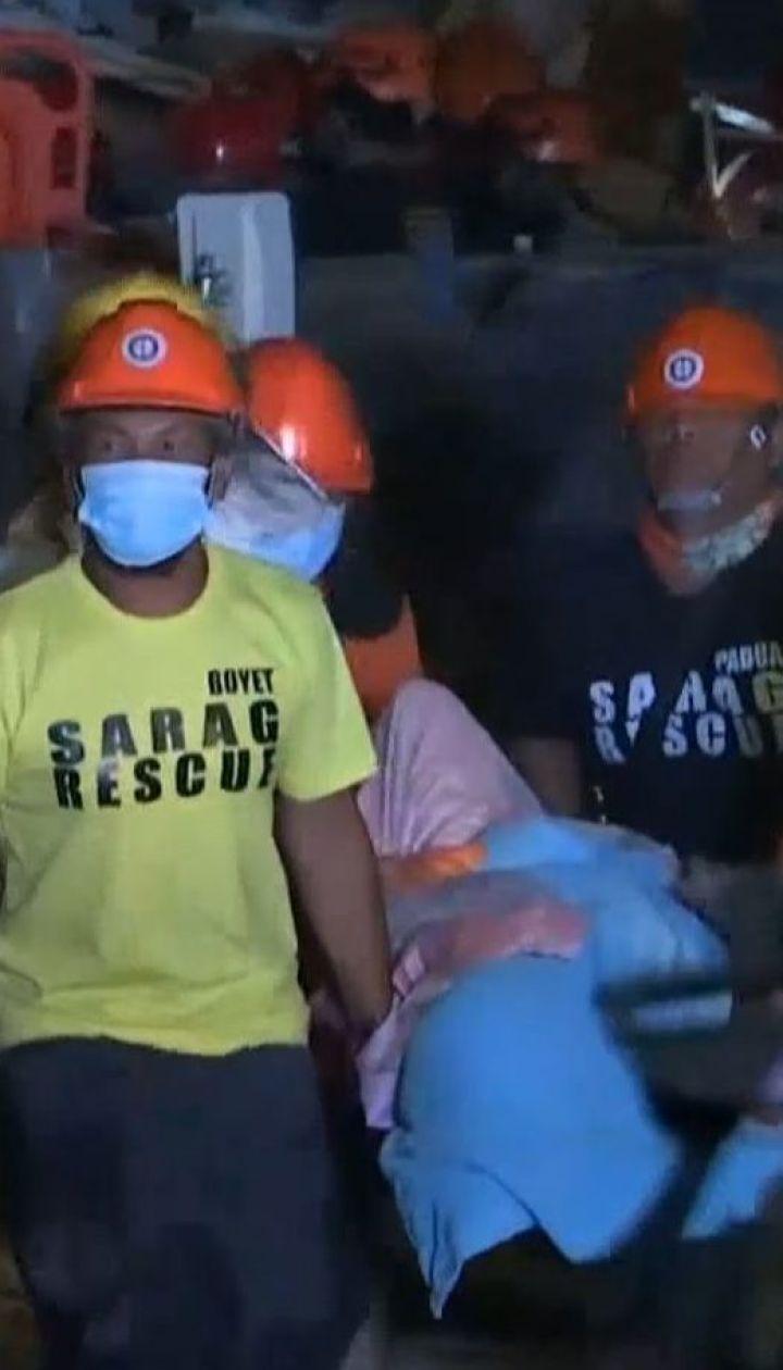 Філіппіни здригнулися від потужних підземних поштовхів