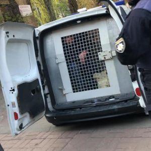 Схоплений на Київщині кілер з кулеметом вийшов з-під варти, але його одразу затримали