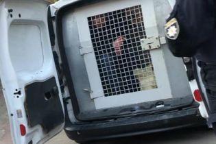 Пойманный на Киевщине киллер с пулеметом вышел из-под стражи, но его сразу задержали