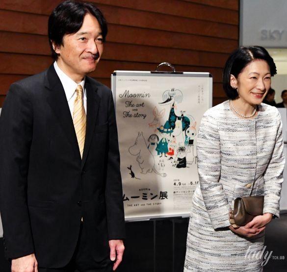 Японская принцесса Кико
