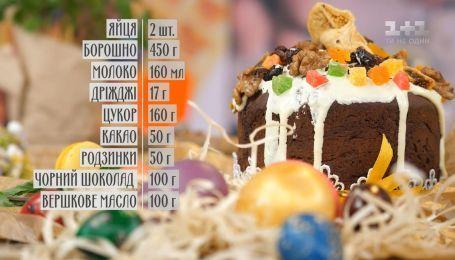 Шоколадна паска - рецепти Руслана Сенічкіна