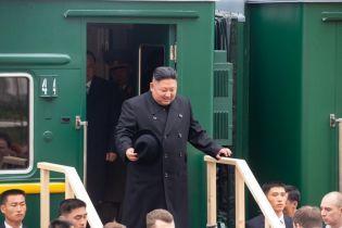 Кім Чен Ин прибув до Владивостока