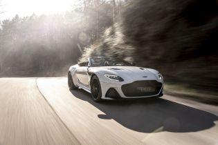 Aston Martin представил самый мощный кабриолет марки