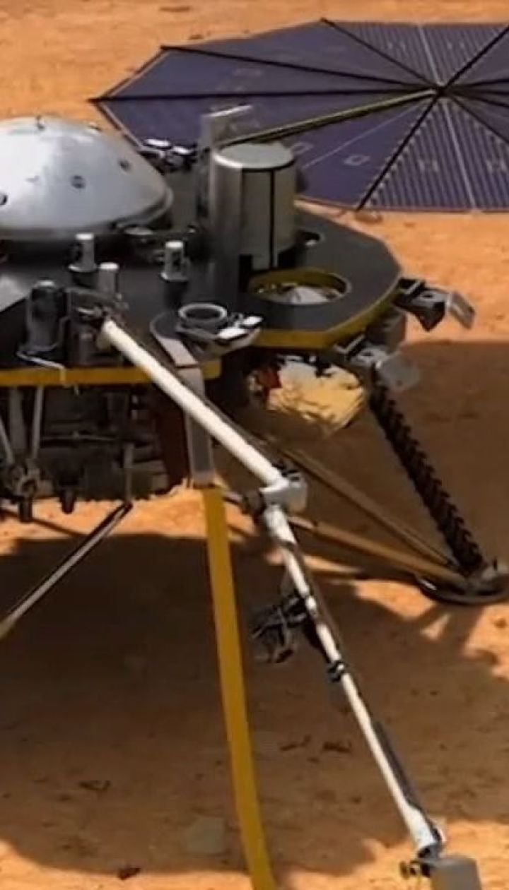 Зонд InSight зафиксировал подземные толчки на Марсе